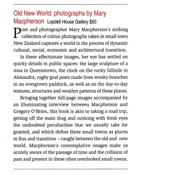 Review from Art News